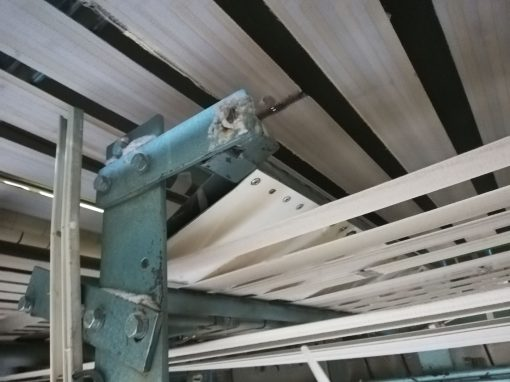 Ανακατασκευή διπλωτική μηχανής σεντονιών